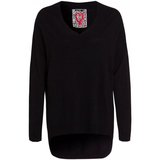 Marc Aurel Oversized Wool Cashmere Mix Jumper