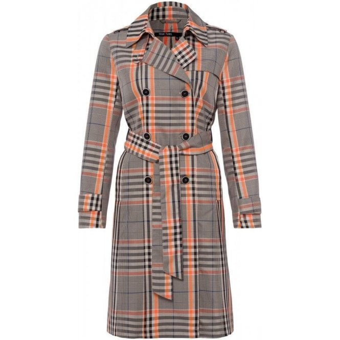 Marc Aurel Prince of Wales Check Short Coat
