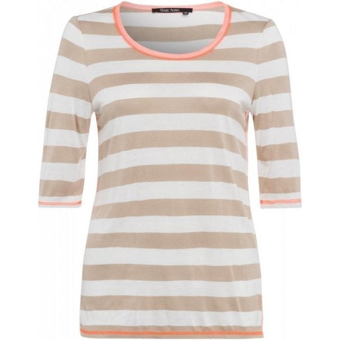 Marc Aurel T-shirt with half-length sleeves