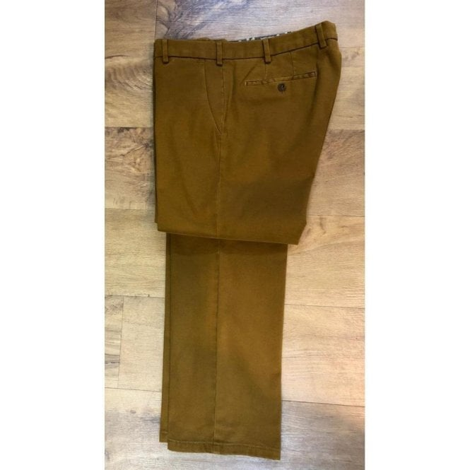 Meyer EXCLUSIVE Roma Organic Cotton Chino Trousers