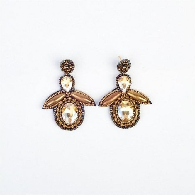 My Doris Bee Drop Earring