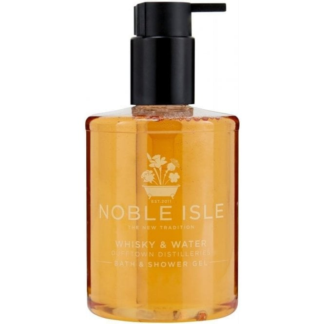 Noble Isle Whiskey & Water Bath & Shower Gel 250ml