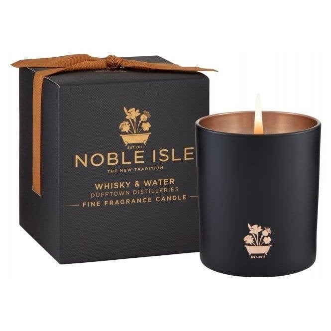 Noble Isle Whisky & Water Candle
