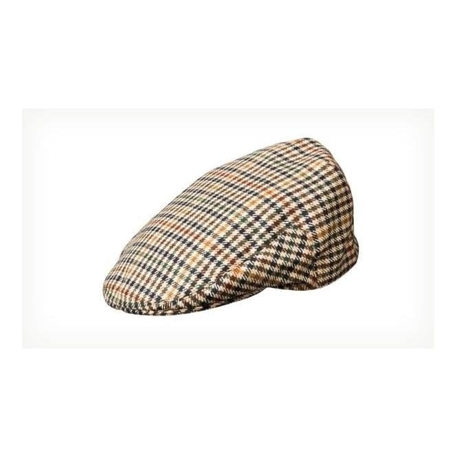 Olney Hereford Pure New Wool Tweed Cap