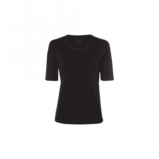 Olsen Round Neck Cotton T-Shirt