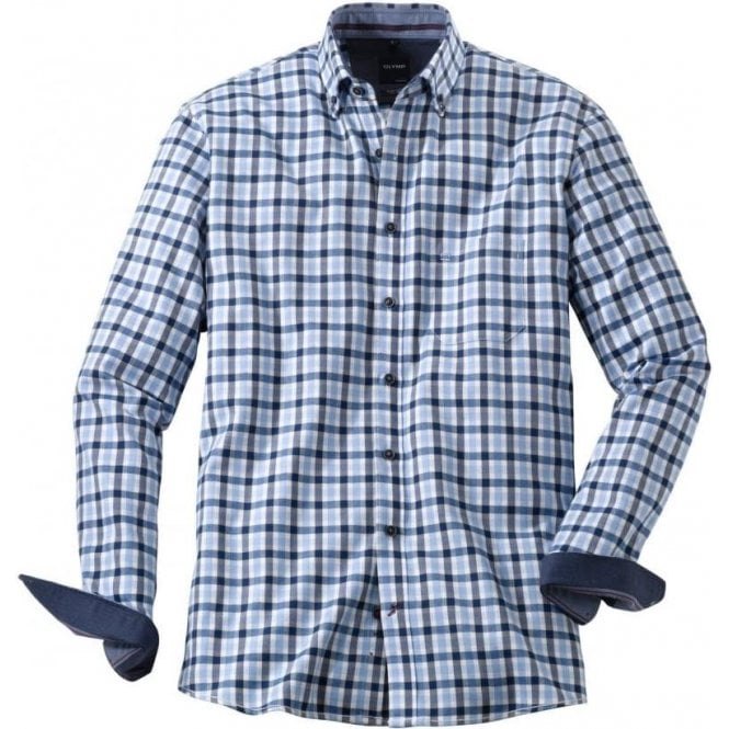 Olymp Button Down Check Shirt