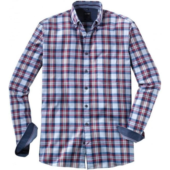 Olymp Casual Check Shirt