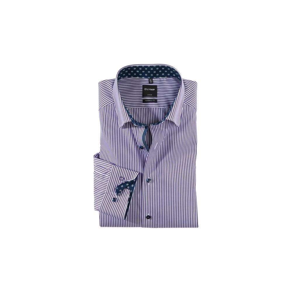 olymp luxor modern fit button down shirt mens shirts o c. Black Bedroom Furniture Sets. Home Design Ideas