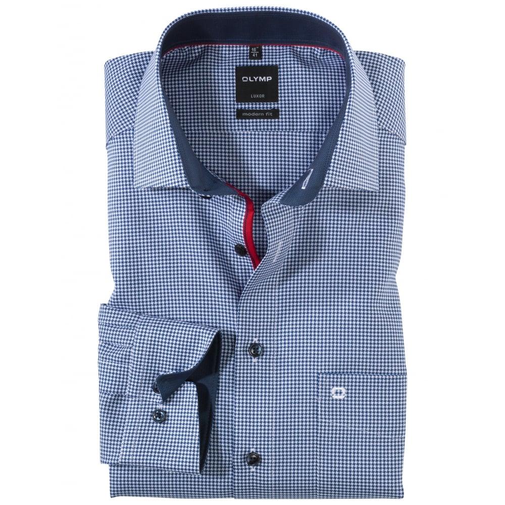 olymp luxor modern fit shirt mens shirts o c butcher. Black Bedroom Furniture Sets. Home Design Ideas