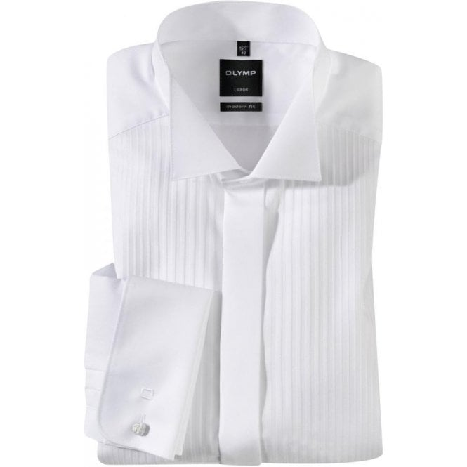Olymp Luxor Wing Collar Dress Shirt