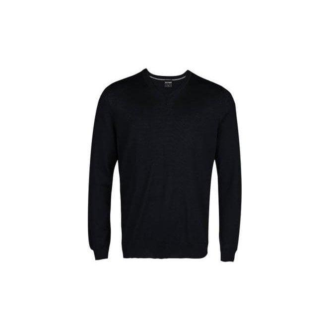Olymp Merino Wool V-Neck Pullover