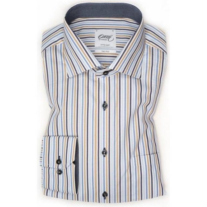 Oscar of Sweden Striped Shirt