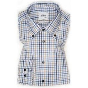 Wrinkle Free Check Shirt