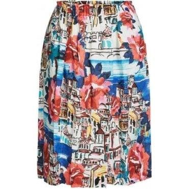 Amalfi Print Skirt
