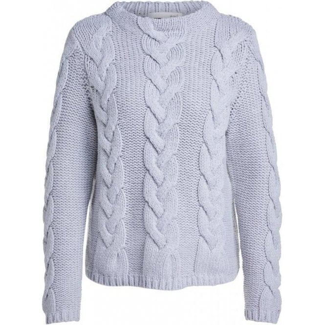 Oui Cable-Knit Jumper