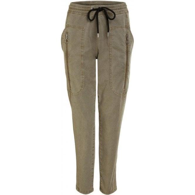 Oui Cargo Stretch Trouser