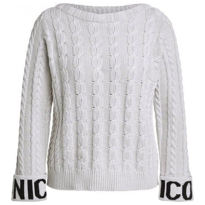 Oui ICONIC Cable Knit Jumper