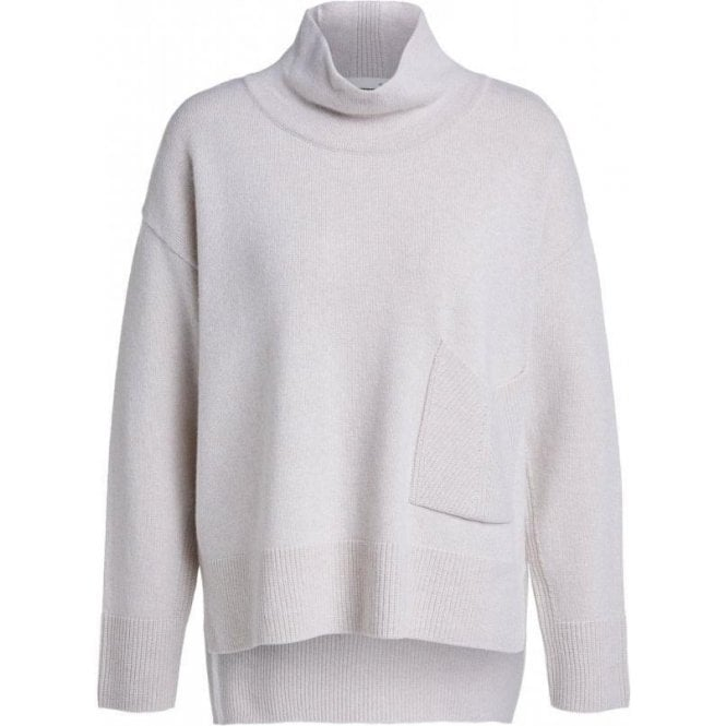 Oui Jumper with Collar and Pockets