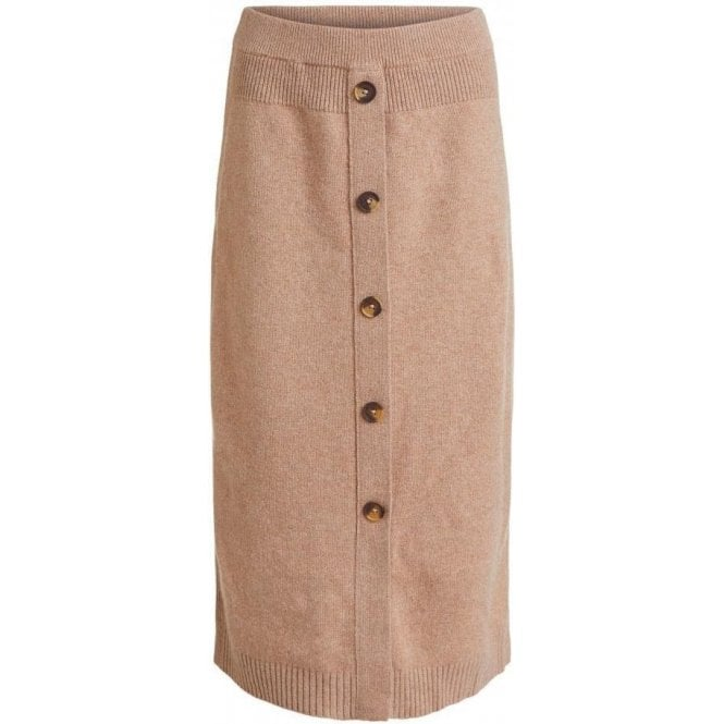 Oui Knitted Slim Fit Skirt