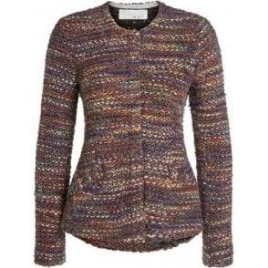 Multi-Coloured Tweed Jacket