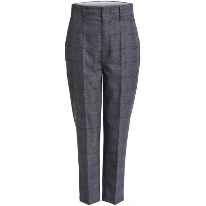 Oui Straight Fit Modern Suit Trousers