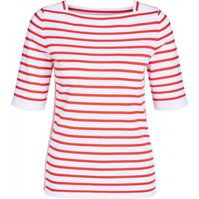 Oui Striped Fine-Knit Jumper