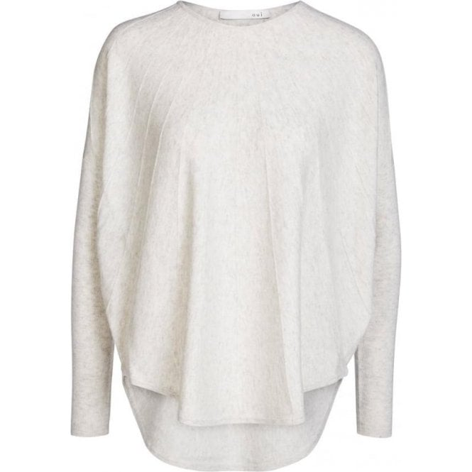 Oui Viscose, Cotton and Cashmere Jumper
