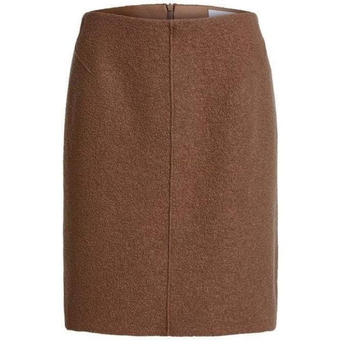 Oui Wool Mini Skirt