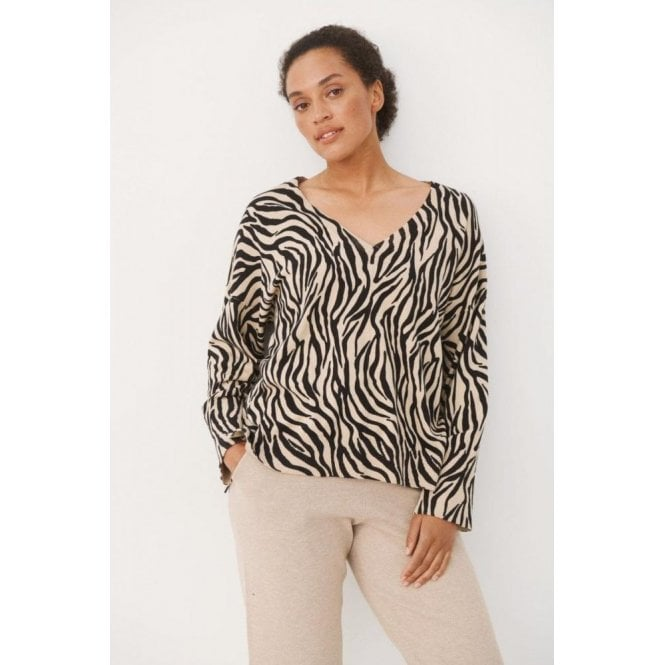 Part Two Hania Knitted V-Neck Pullover