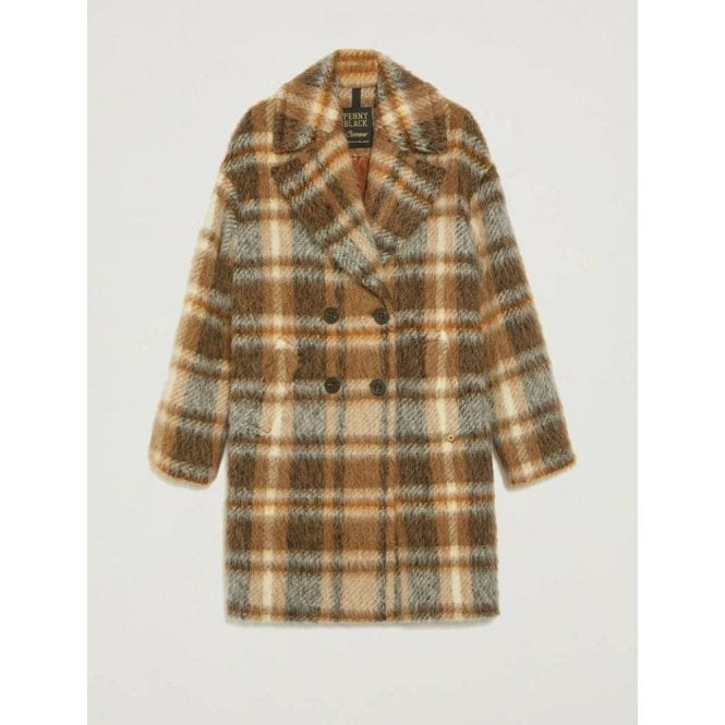 PENNYBLACK Checked Coat