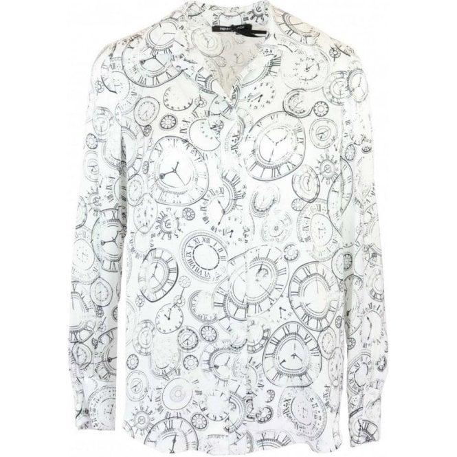 PENNYBLACK Clock Print Floreale Shirt