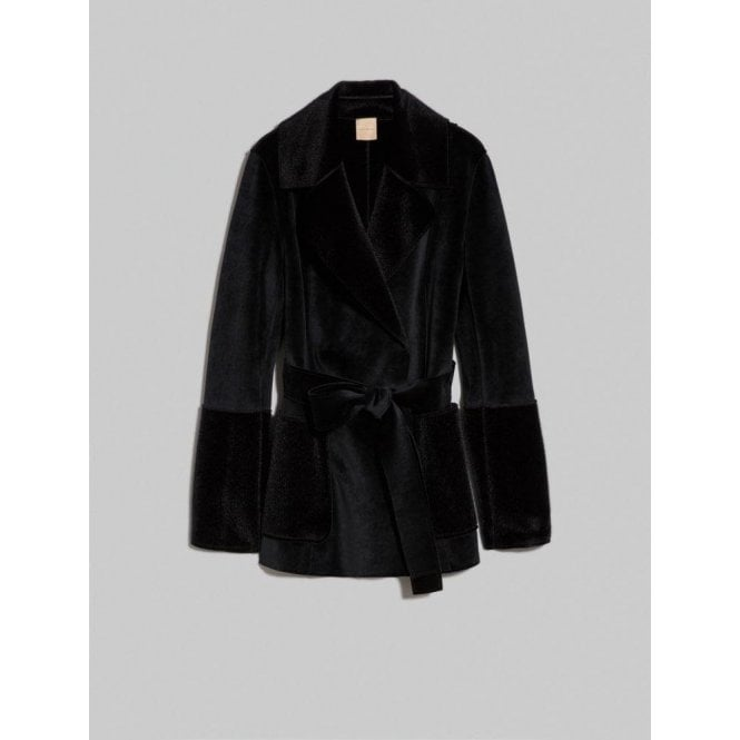 PENNYBLACK Velvet And Plush Pea Coat