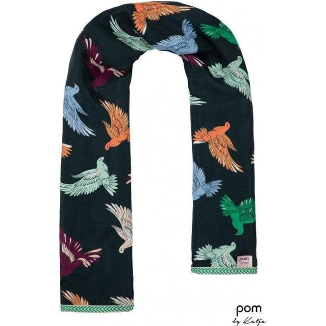 Pom Amsterdam Lovebirds Multi by Katja Scarf