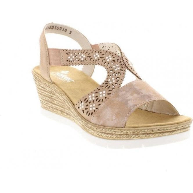 Rieker 61916 Slip On Sandals