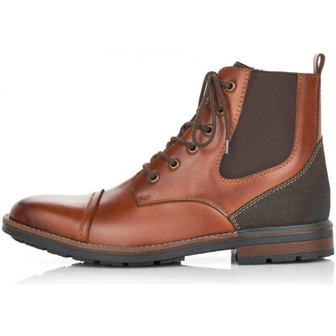 Rieker F1324-24 Men's Brown Boots
