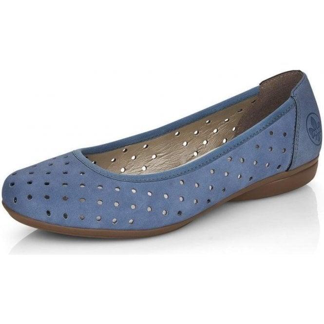 Rieker L8355 Ladies Slip On Shoes
