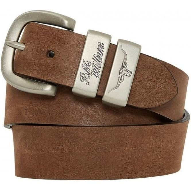 RM Williams Drover Stitch Belt