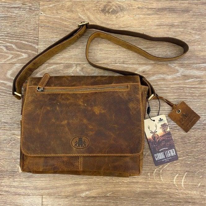 Rowallan Bavaria Large 3/4 Flap Messenger Bag