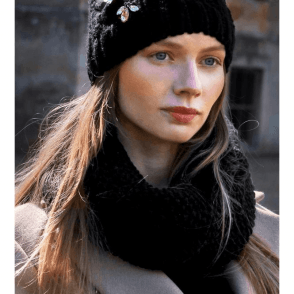 Carbon Twist Snood