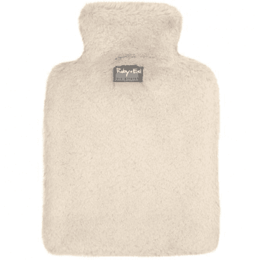 Natural Sheepy Hot Water Bottle Cover