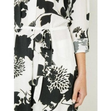 Asian Floral Print Tunic