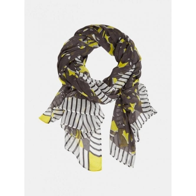 Sandwich Scarf with print