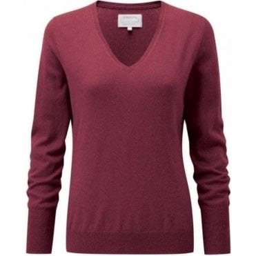 Cotton/Cashmere V Neck