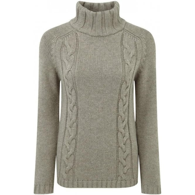 Schöffel Merino Cable Roll Neck