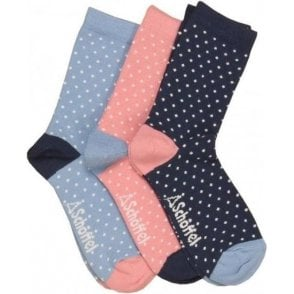 Polzeath Sock (Pack of 3)
