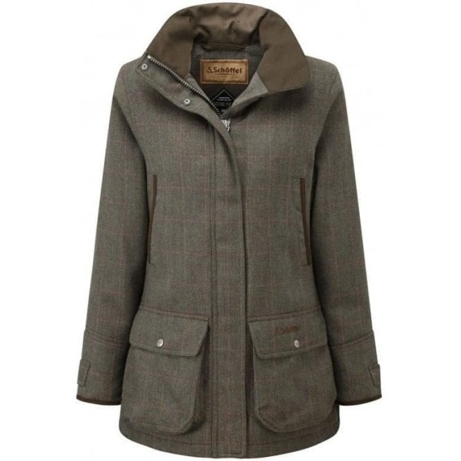 Schoffel Ptarmigan Ladies Tweed Coat