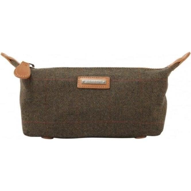 Schoffel Tweed Wash Bag