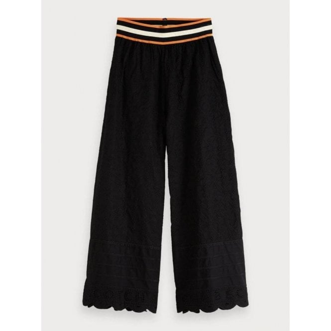Scotch & Soda Broderie Anglaise Trousers