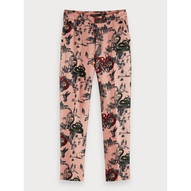 Scotch & Soda Printed Trousers