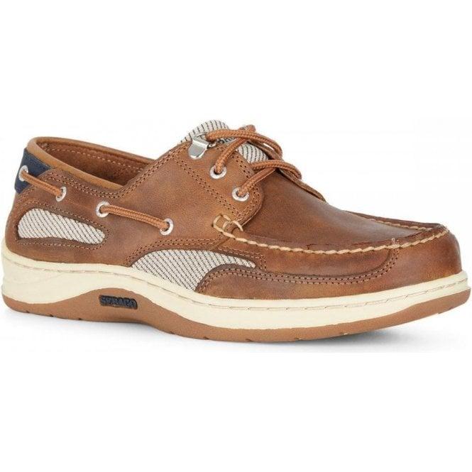 Sebago Clovehitch Waxed Leather Boat Shoe